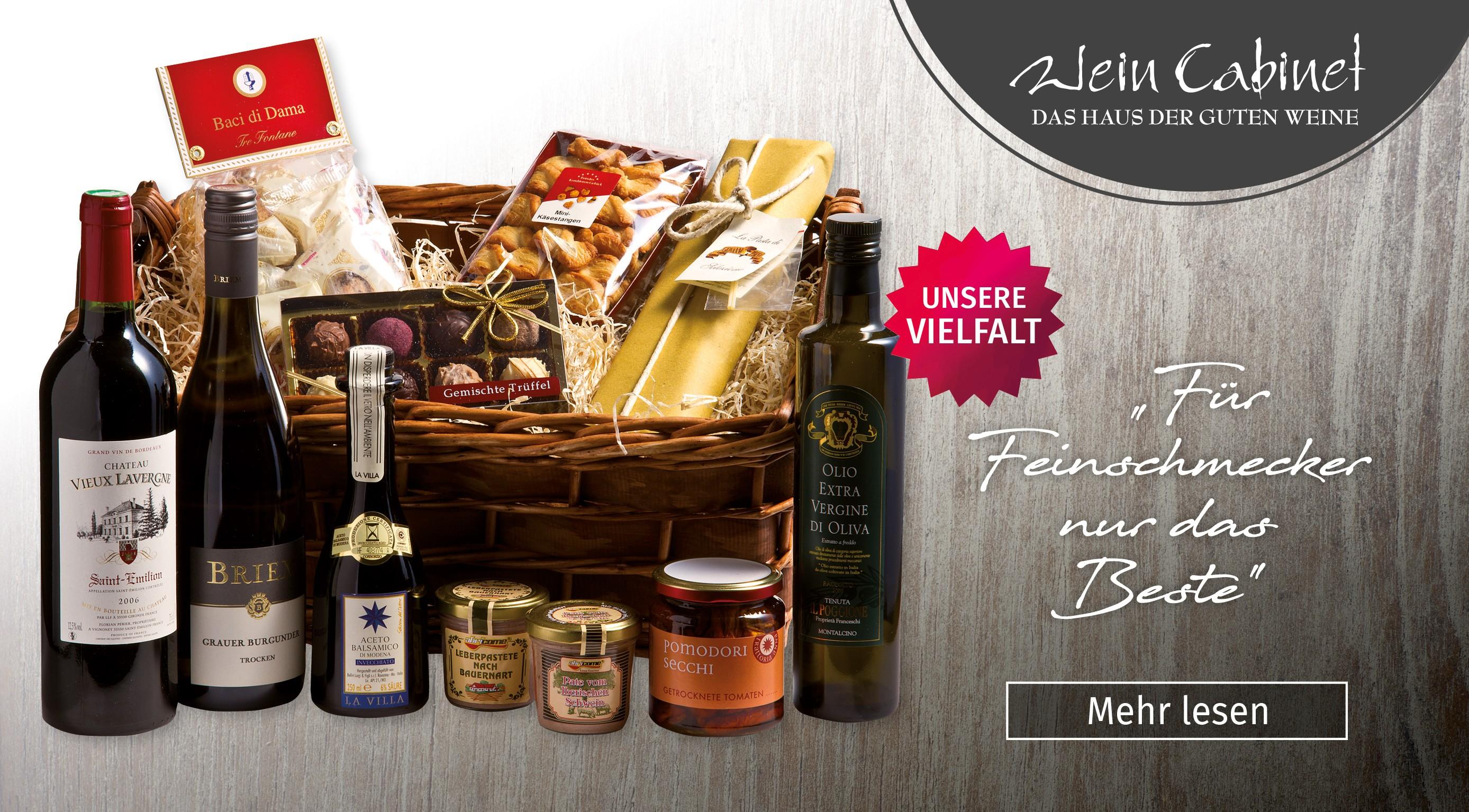 Wein Cabinet Briem, Wachtberg, Geschenkideen Wachtberg, Weinpräsente, Weingeschenke