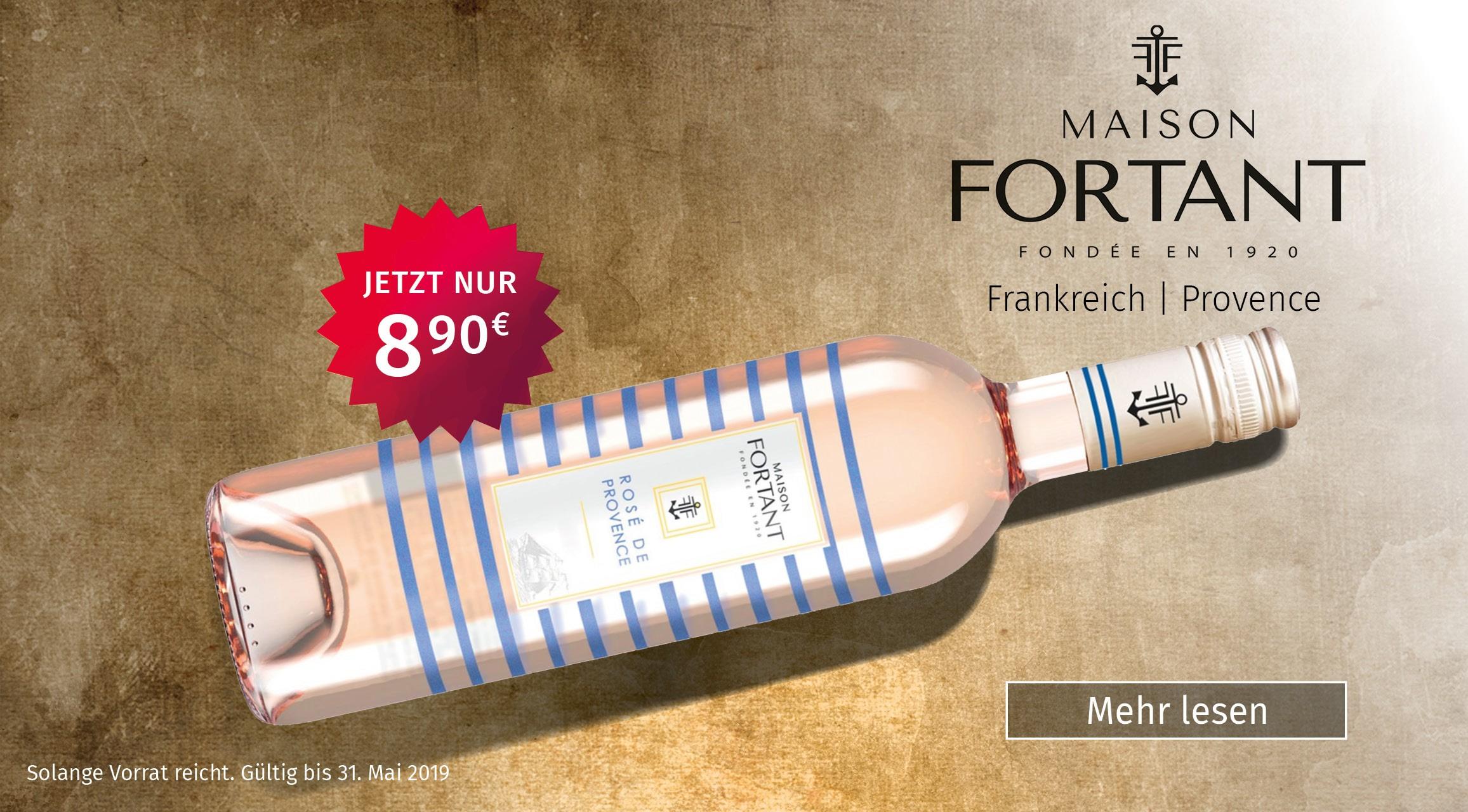 Wein Cabinet Briem, Wachtberg-Berkum, Rosé, Maison Fortant, Weinangebot,