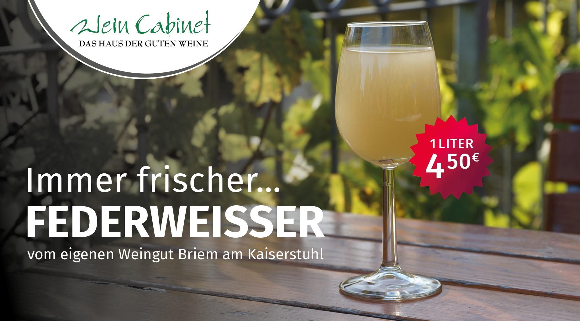 Federweißer, Neuer Süer, Weingut Biem Kaiserstuhl, Wein Cabinet Breim Bonn,