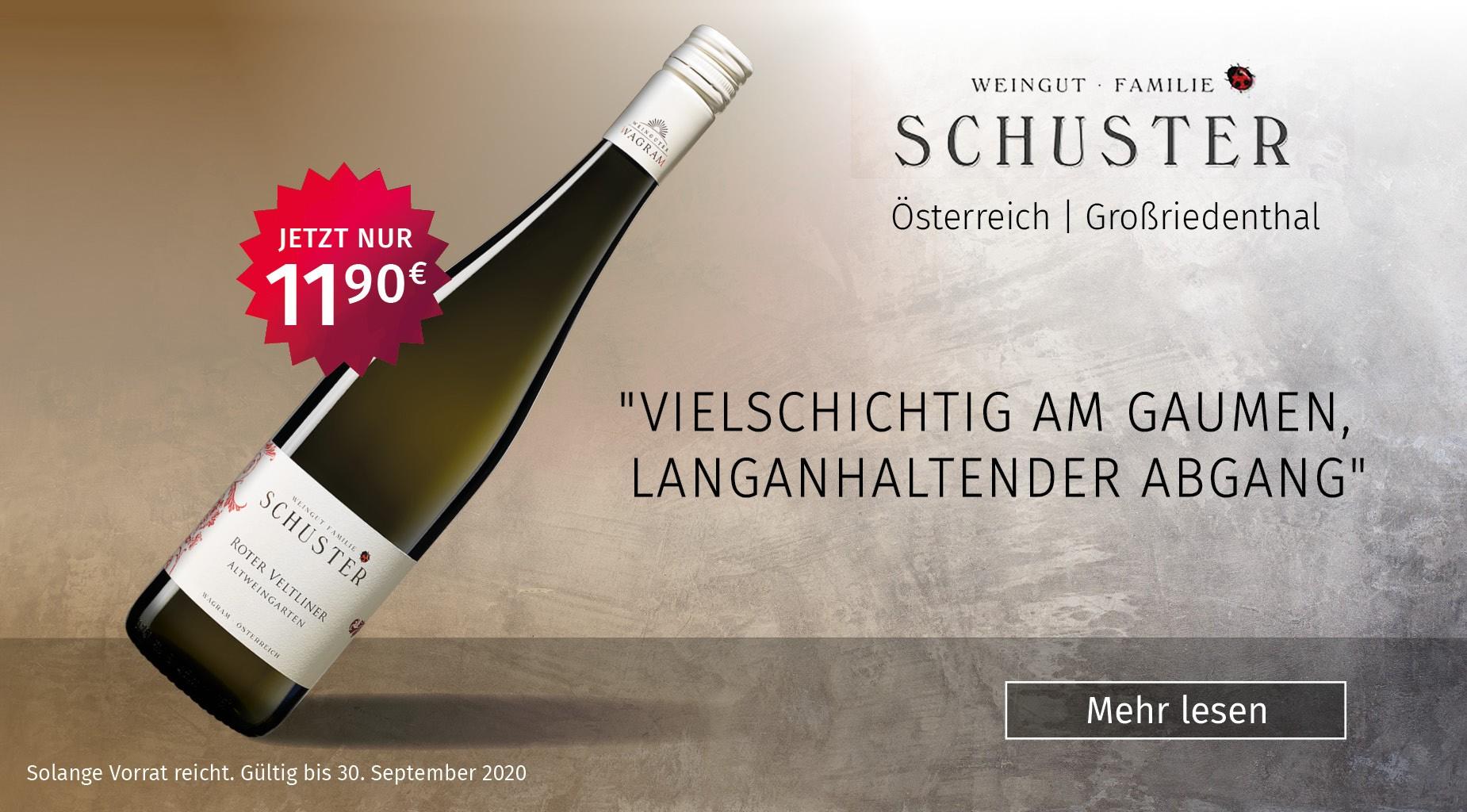 Roter Veltliner, Weingut Schuster, Österreich